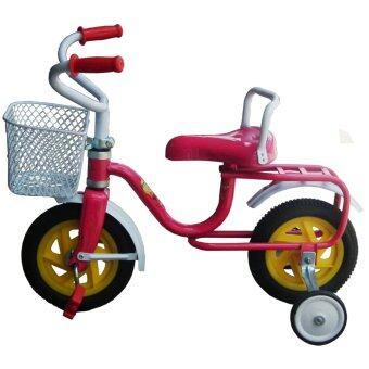 KK BIKE จักรยานถีบล้อหน้า 8 นิ้ว (สีชมพู)