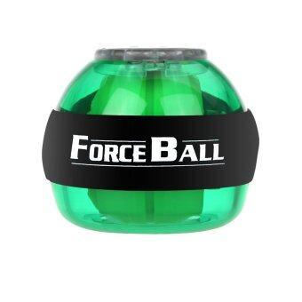 ข้อบังคับลูกบอลพลังงาน Ledไจโรสโคปจับบอลความเร็วจังหวะใช้ผักตบไทยกล้ามเนื้อต้นแขนสีเขียว