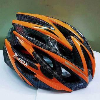 หมวกจักรยานมีไฟ LED.X-FOX