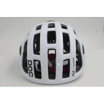 Lee Bicycle หมวกจักรยาน รุ่น POC (สีขาว)