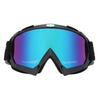 leegoal Adjustable Outdoor UV Protective Motorcycle GlassesMilitary Sunglasses Outdoor Tactical Ski Goggles With Colorful Lens