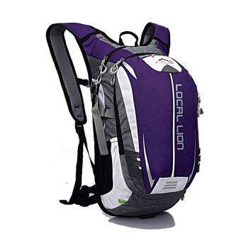 ซื้อ/ขาย Local Lion กระเป๋าเป้นักกีฬา กระเป๋าสะพาย กระเป๋าจักรยาน ขนาด 18L (ม่วง)