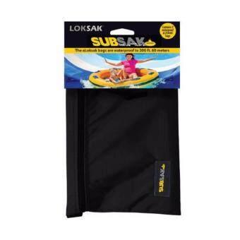 ราคา LOKSAK : ซองกันน้ำลึก 60เมตร ขนาด 16.2 x 13.3 CM 2 ซอง พร้อมกับกระเป๋าคาดเอวกันน้ำ