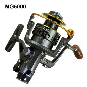 Harga Loveu Stroe MG5000 Spinning Fishing Surf Reel Carp Rear Drag BaitFishing Reels - intl