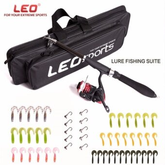 Lure Rod ABS Deep Sea Saltwater Fishing Rod Portable Foldable Travel Spinning Cheap Telescopic Rods and