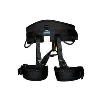 MagiDeal Mountaineering Rock Tree Climbing Harness Seat Sitting Bust Belt Gear Black - intl
