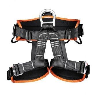 MagiDeal Professional Safety Rock Climbing Rappelling Harness Seat Bust Belt Orange