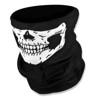 Mask หน้ากาก กันฝุ่น มอเตอร์ไซด์ จักรยาน สีดำ ลายกระโหลก 004 skullbike motorcycle