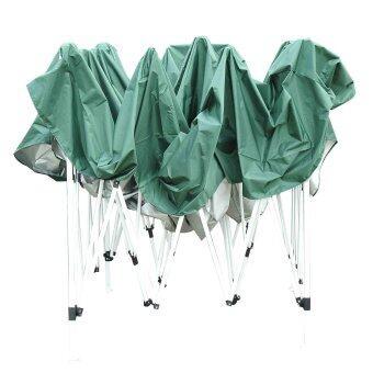 MaxDe เต็นท์พับได้ พร้อมกระเป๋าและอุปกรณ์ ขนาด 3*3เมตร สีเขียว (image 4)