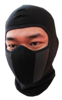 MHF หน้ากากมอเตอร์ไซค์ จักรยาน กันฝุ่นและแดด UV MASK99 - Black