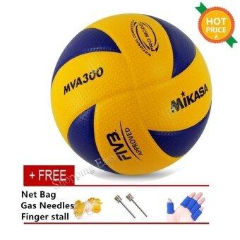 Mikasa MVA 300 Volleyball Soft PU Volley Ball MVA300 Size 5 - intl