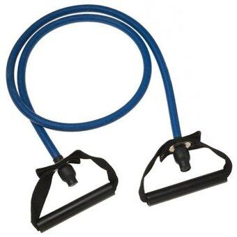 Mr.home ยางยืดออกกำลังกาย 20 lbs Resistance Band Workout StretchHeavy Duty Tubes (Blue)