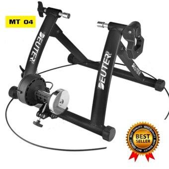 เทรนเนอร์จักรยาน รุ่น MT-04 มีสายรีโมทปรับความหนืด 6ระดับ