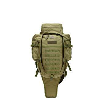 Multi Solid Nylon wearproof CS Outdoor Sport Climbing CampingHiking Trekking Molle travel Bags Military Tactical Backpack60L(Green) - intl