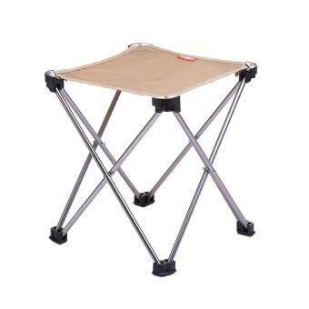 NatureHike เก้าอี้พับ เก้าอี้สนาม แบบพกพา อลูมิเนียม น้ำหนักเบา -สีน้ำตาล