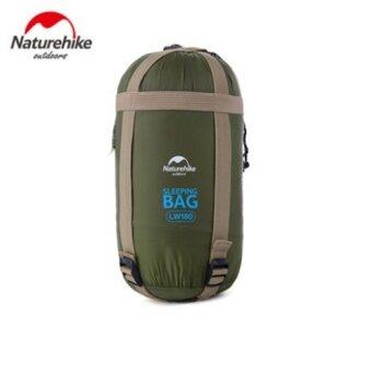 NatureHike 200x85cm มินิกลางแจ้งห่วงใยเท้าซองถุงนอน Ultra-small ขนาดสำหรับแคมป์ปิ้งเดินป่าปีนเขา NH16S004-L - นานาชาติ