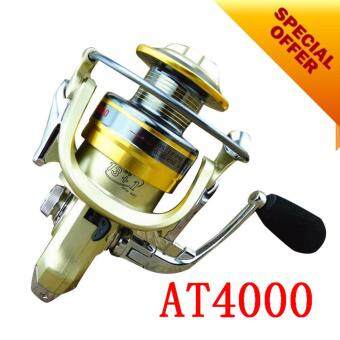 NBS 13+1 5.5:1 Carp Feeder Fishing Reel metal Bait Spinning wheel Fishing Reels (AT4000)