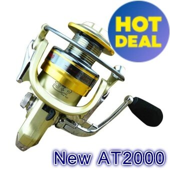 NBS 13+1 5.5:1 Carp Feeder Fishing Reel metal Bait Spinning wheelFishing Reels (AT2000)