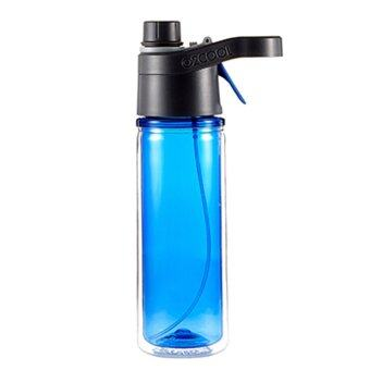 O2COOL HMRD18A Mistn Sip Misting Hydration Sports Bottle (Grey) -intl - 5