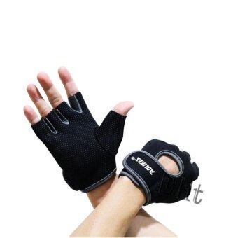 ประเทศไทย OMG AOLIKES ถุงมือฟิตเนส ไซส์ S,M,L Fitness Glove Weight Lifting Gloves (Grey)