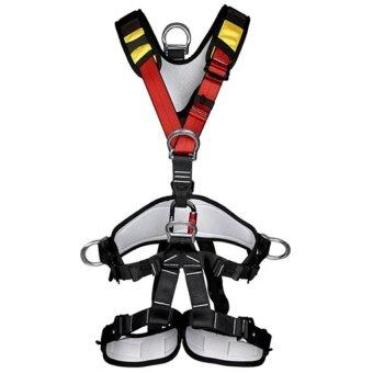 Outdoor Rock Climbing Rappelling Full Body Safety Harness Wearing Seat Belt  - intl