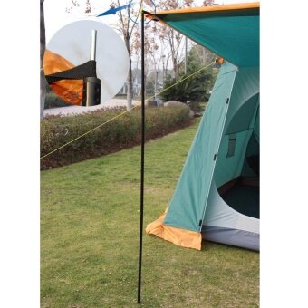 Outdoor Tent Pole 2 PCS Galvanized Iron Pipe Tent Bar Rods - intl