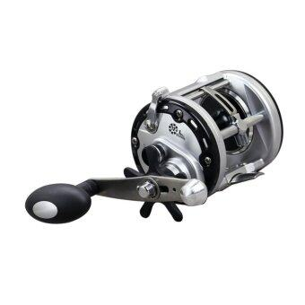 PAlight 12+1BB Drum Fishing Reels Bait Casting Right HandSurfcasting Reel (size:JCA400) - intl