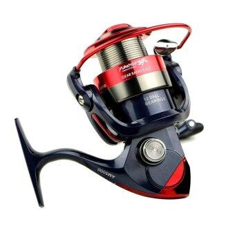 PAlight Spinning Fishing Reel Fixed Spool Reels Coil 12BB 5.5:1Fishing Wheel (size:AM2000) - intl