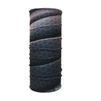 ซื้อ/ขาย PARBUF ผ้าบัฟ ป้องกัน UV ผ้าโพกหัว เนื้อผ้า COOL-MAX รุ่นเย็น ป้องกัน UV80+ 001 (สีดำ)