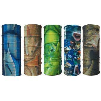 Parbuf ผ้าอเนกประสงค์ ป้องกัน UV SET ตกปลา PARBUF ผ้ากัน UV (5 ผืน)