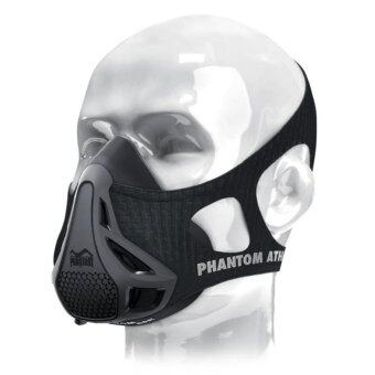 Phantom Training Mask Athletics Erwachsene Phantom Athletics Men Fitness Outdoor Sport Training Mask 2.0 Black M Size - intl