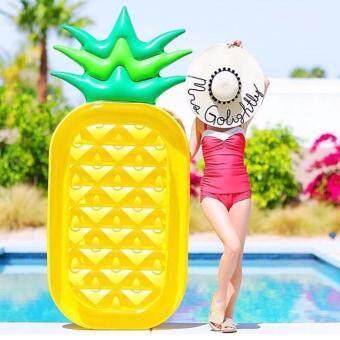 2561 แพยางสับปะรด Pineapple pool float แพยางเป่าลม ห่วงยางผู้ใหญ่ แพยางแฟนซี float intex Pineapple