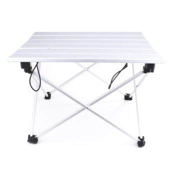Portable Aluminum Rolling Table Folding Camping Outdoor TravellingIndoor (Small) - intl