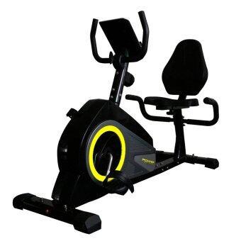 Power Reform จักรยานเอนปั่น นั่งปั่น นอนปั่น จักรยานออกกำลังกาย Recumbent Bike รุ่น Reactor 335L (สีดำ)