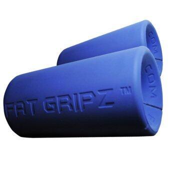 ซื้อ/ขาย Power-Up ตัวจับแกนดัมเบล และบาร์เบล FAT GRIPZ (blue)