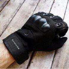 ถุงมือขับรถ ถุงมือขี่มอเตอร์ไซค์ ถุงมือ เต็มนิ้ว
