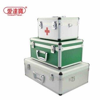 กล่องอลูมิเนียม สำหรับใส่ชุดเครื่องมือปฐมพยาบาล พกพาได้