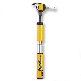 2561 PSB NET Airace Aluminium Pump for Road Bike AP87 - Yellow