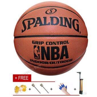 PU Basketball Special NBA Games Size7 PU Leather Basket Basketball Ball Training Equipment - intl