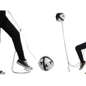 Quality Football Kick Trainer Control Skills Solo Soccer TrainingAid Adjustable - intl