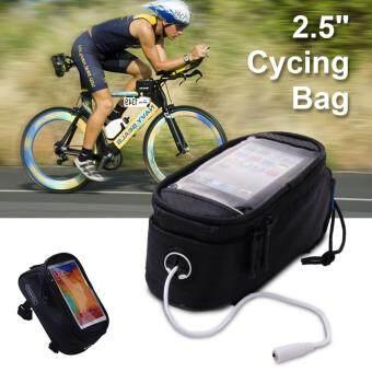Roswheel กระเป๋าใส่โทรศัพท์ติดจักรยาน ขนาด 5.5 +พร้อมรูเสียบแจ็คหูฟัง
