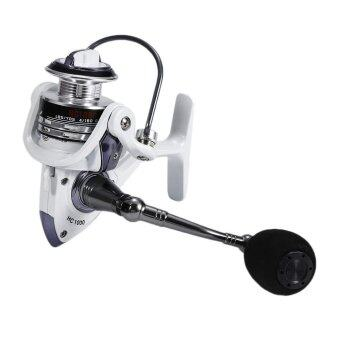 Round Wheel Reel Fishing Vessel 13+1 Bearing Line Metal Gear FlyRock Fishing - intl