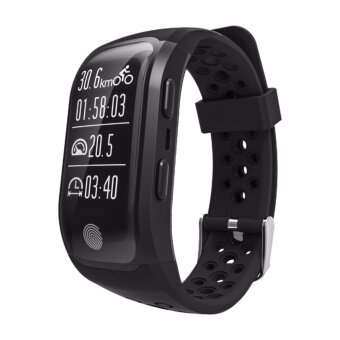S908 GPS Sport Smart Band IP68 professional waterproof Heart rate Auto LAP Bluetooth Nordic 4.0 - intl