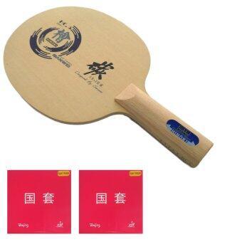 ซื้อ/ขาย SANWEI ไม้ปิงปองประกอบ HC-6 (HINOKI+HARD CARBON)