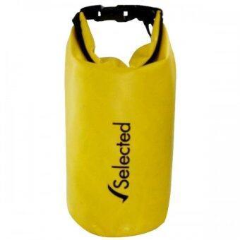 Selected Waterproof bag กระเป๋ากันน้ำ ถุงทะเล ถุงกันน้ำ Dry bag 1.5L - สีเหลือง