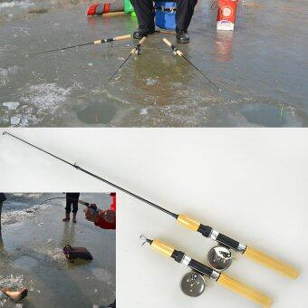 Small Shrimp Ice Fishing Rod Pole Mini Rods Fishing Tackle valvePole - intl