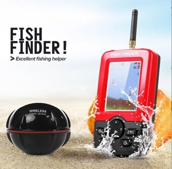 Smart Portable Depth Fish Finder With 100M Wireless Sonar Echo Sounder Fish Find - intl