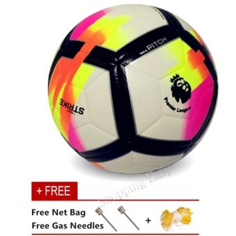 Harga Soccer Ball Professional Size 5 Seamless PU Training CompetitionFootball Ball - intl
