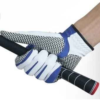 Sole Golf Glove Men Microfiber Cloth Gloves Anti-skid Left Right Hand Glove - intl