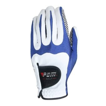 Sole Golf Glove Men Microfiber Cloth Gloves Anti-skid Left RightHand Glove - intl